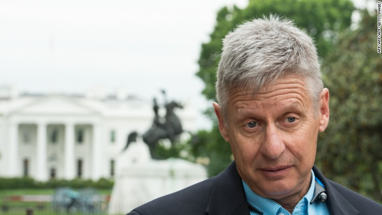 """Gary Johnson says America should """"embrace immigration"""""""