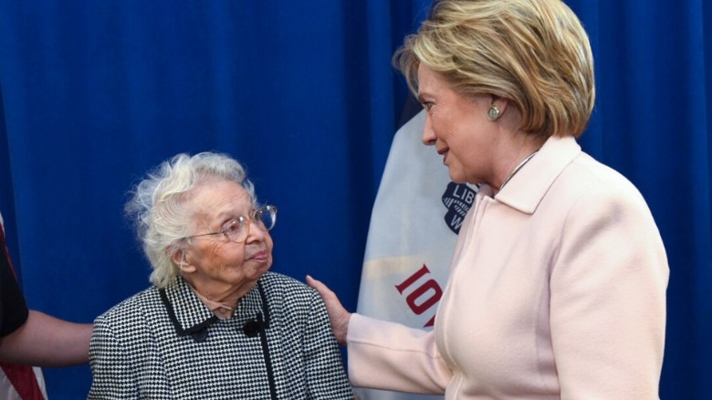 103-year-old: 'I must live' to vote for Hillary Clinton