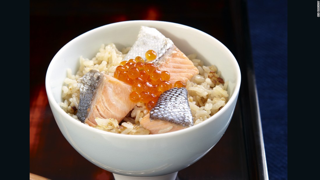 """Salmon has always played an important role in Tohoku cuisine and harako meshi (literally """"salmon child rice"""") is a """"signature dish"""" of the region. Often featured at family gatherings, every household seems to have its own rendition."""