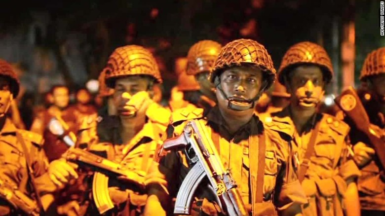 Dhaka cafe siege: 20 hostages killed, military says