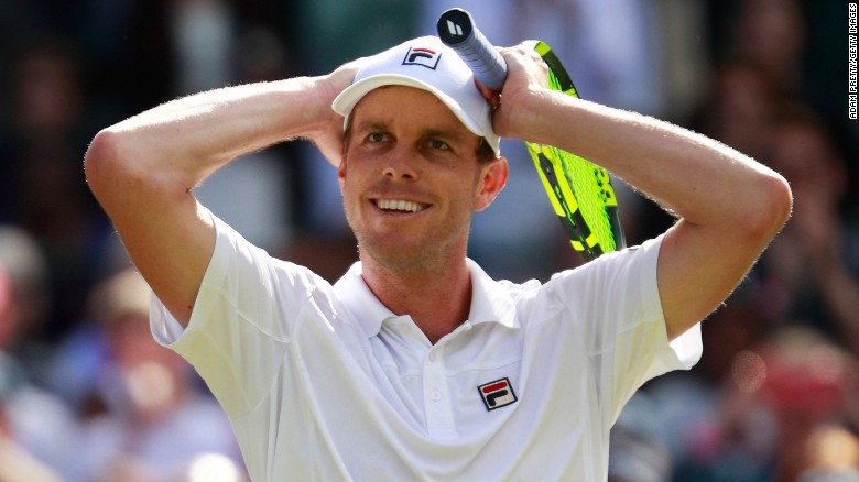 Querrey stuns Djokovic in third round at Wimbledon