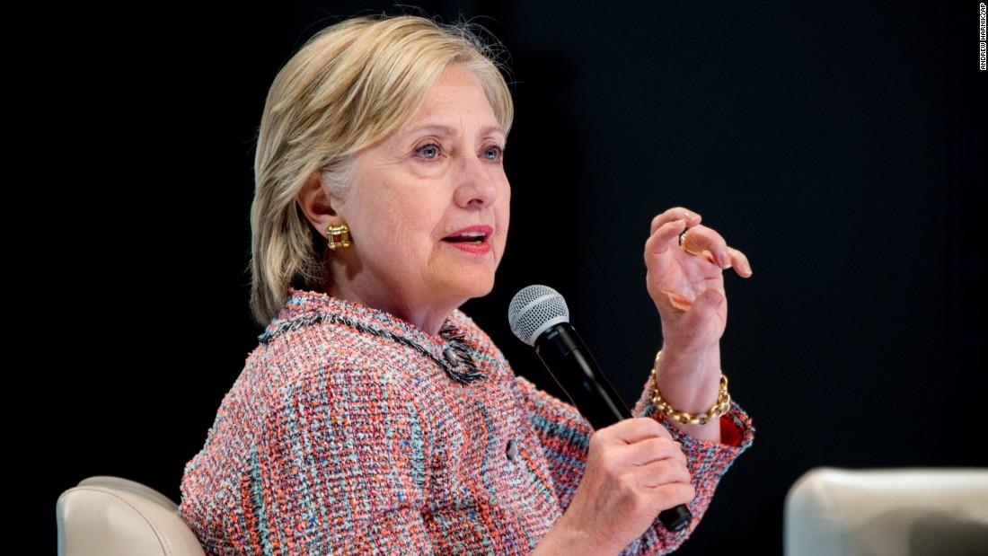 Presumptive nominee Hillary Clinton