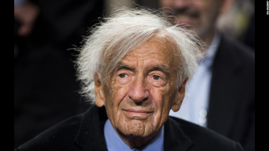 "Nobel Peace Prize laureate and Holocaust survivor <a href=""http://www.cnn.com/2016/07/02/world/elie-wiesel-dies/index.html?adkey=bn"">Elie Wiesel</a> died at the age of 87 on July 2. Wiesel's book ""La Nuit"" is the story of the Wiesel family being sent to Nazi concentration camps."