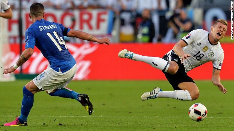 Germany beat Italy in penalty kicks