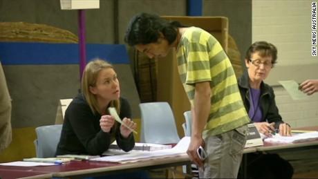 Australian election too close to call