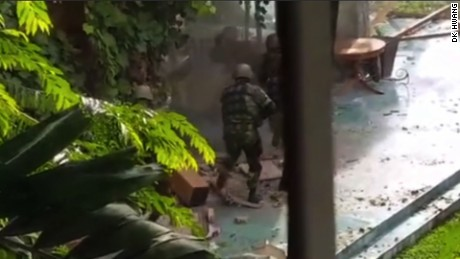 Video purports to show Dhaka cafe siege