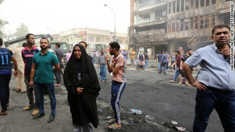 Bombing that killed more than 200 deadliest attack in Baghdad in years