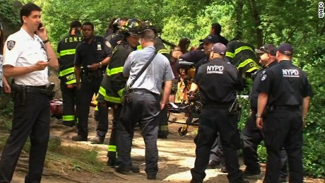 Man injured in blast in New York's Central Park