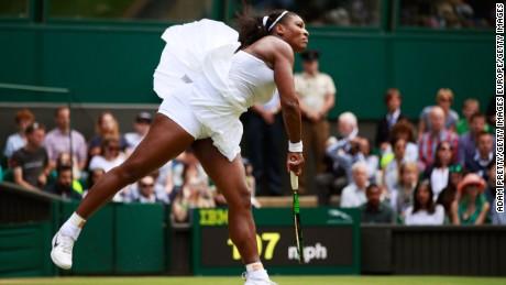 Serena milestone on People's Sunday