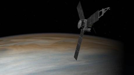 NASA's Juno spacecraft finally reached Jupiter.
