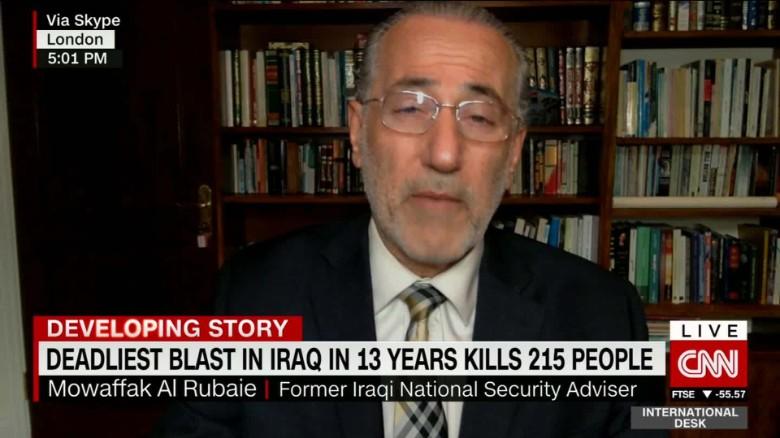 exp Mowaffak Al Rubaie on Baghdad bombing_00004305