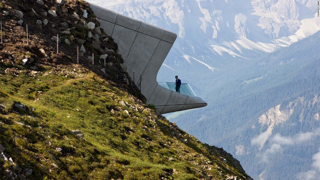 Zaha Hadid Architects was among the firms to be shortlisted for the World Architecture Festival awards, Monday. Its Messner Mountain Museum Corones project was built on top of the Kronplatz mountain, 2,275 meters (7,463 ft) above sea level, in northern Italy and was nominated in the Civic category for Completed Buildings (Image courtesy WAF).