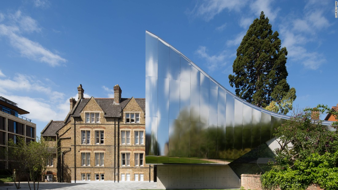 Another Higher Research and Education contender -- and a second shortlisted entry for Zaha Hadid Architects -- is the Investcorp Building for Oxford University's Middle East Centre at St Antony's College in Oxford, England.