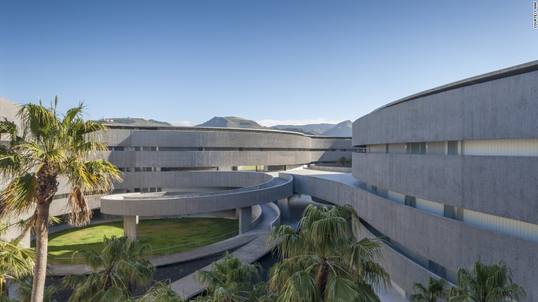 The new Faculty of Fine Arts at the University of La Laguna in Tenerife, Spain, by gpy arquitectos has been nominated in the Higher Research and Education section for Completed Buildings at the WAF awards (Image courtesy WAF).<br />