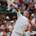 Kei Nishikori; Japan; Wimbledon 2016; 4th of July; match against Marin Cilic