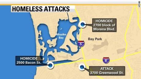 San Diego homeless deaths