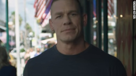 John Cena's patriotic PSA has fans cheering