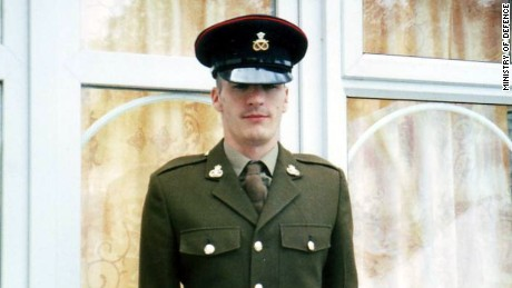 Leon Spicer was killed when the convoy he was in hit a roadside bomb