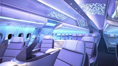 Airbus will reveal some of the latest advances in cabin design at its pavilion.