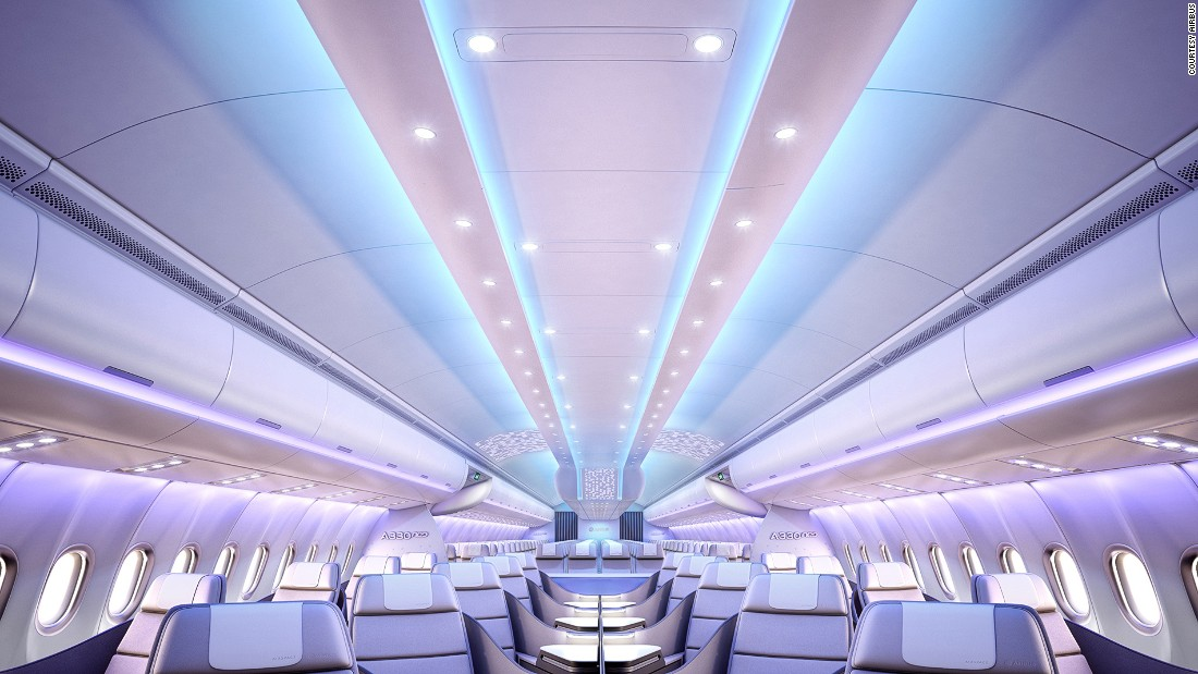Visitors to the Airbus pavilion will get a glimpse of the new Airspace by Airbus cabin concept, in which the European manufacturer showcases its latest cabin designs.