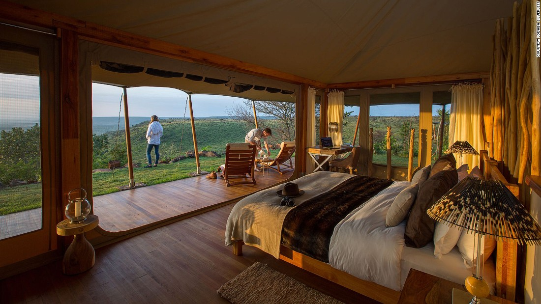 Almost completely destroyed by a 2014 bush fire, Loisaba Tented Camp reopened in May 2016 at an even higher standard of luxury and comfort than its previous iteration.