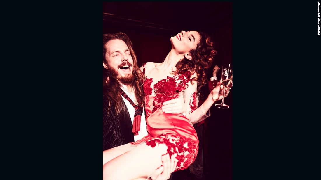 Photography by Ellen von Unwerth; Production by Shape Production & Clara Rea. <br /><br />With special thanks to friends and creatives involved: Sascha Lilic, Daniel Lismore, Fifi Chachnil, Sigmund Oakeshott, Catherine Baba, Jarl de Basseville, Guillaume Boulez, Julia Alethea, Sascha Linse, Lucille Littot, Axel Huynh, Julia Hohansen, Anais Pouliot, Alexia Giordano, Jeanni, Morgan Shelly, Serafima, Sophie Helard, Maria Vinogradova, Andreas Schmidt, Maniacha, and Lily Serebrenik.