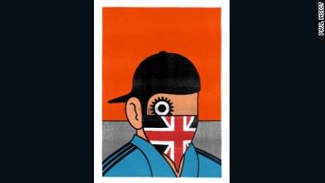 """""""A Clockwork Britain"""" (2012), by Paul Insect."""