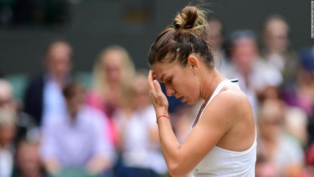 The German fourth seed won 7-5 7-6 (7-2) against Simona Halep, extending the Romanian world No. 5's wait for a first grand slam title.