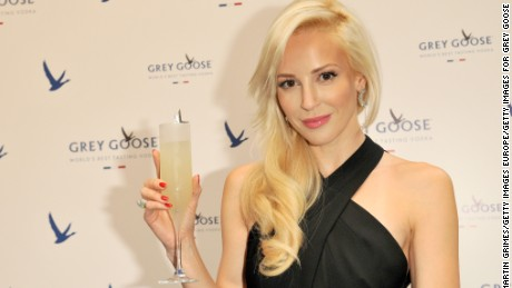 Actress Louise Linton at a Grey Goose event on July 16, 2014 in Edinburgh, Scotland.