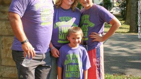 Katie's family.