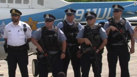5,000 cops deployed for Chicago holiday weekend