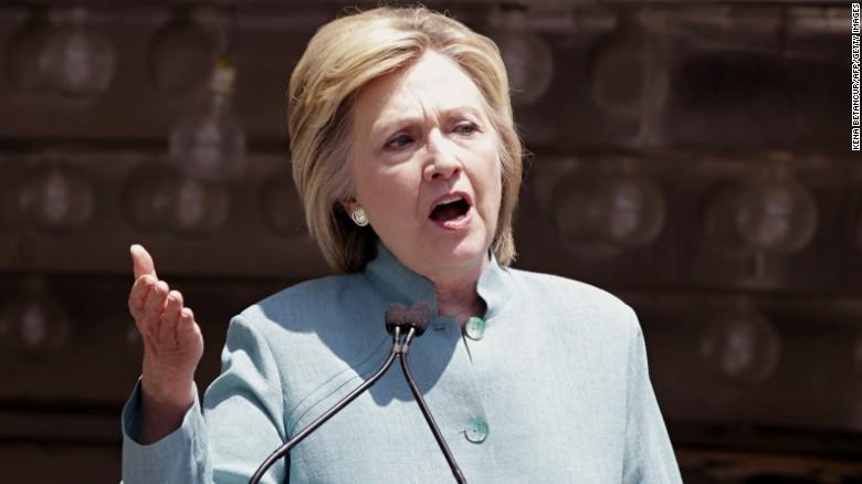 Clinton slams Trump on bankruptcies in Atlantic City