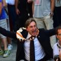 siena horses man celebrates
