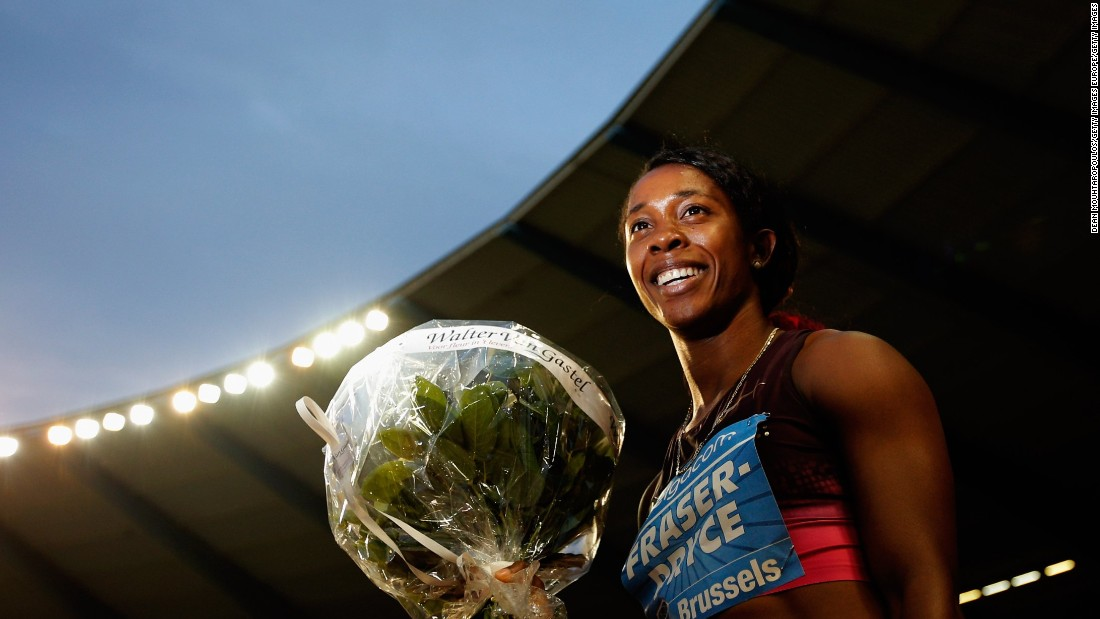 """Fraser-Pryce is heading to her third Olympics. """"I'm looking forward to the athletes' village. The first time, I went into the cafeteria -- it was huge and there were so many athletes there. It was breathtaking to be able to be among all these athletes, and also to make friends.""""<br />"""