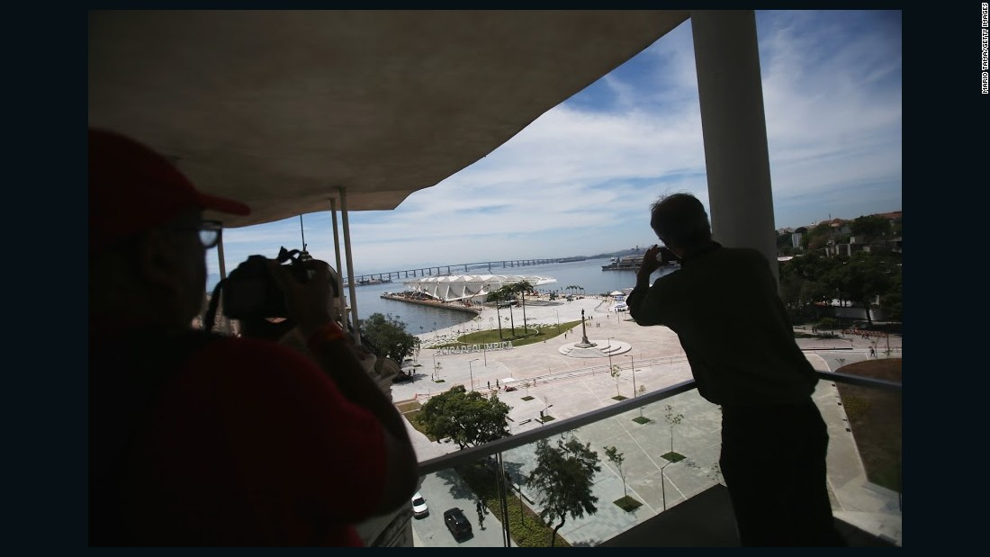 Local architects say the Museum of Tomorrow is the jewel of Rio's newly redeveloped Porto Maravilha -- and is a more eye-catching design than any new venues the 2016 Olympics have to offer.