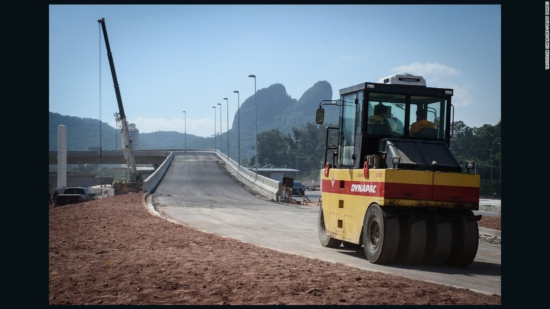 """""""The transport system in Barra is definitely a plus,"""" says local architect Barbara Iseli of other Olympics-inspired upgrades to services like the bus network."""