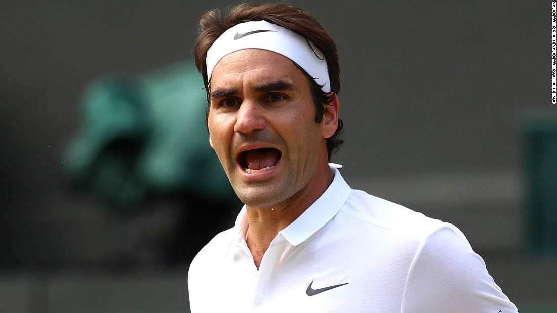 But Federer didn't buckle against the 2014 U.S. Open champion, saving multiple match points in the fourth set before a dominant performance in the decider sent him through to the Wimbledon semifinals for the 11th time.