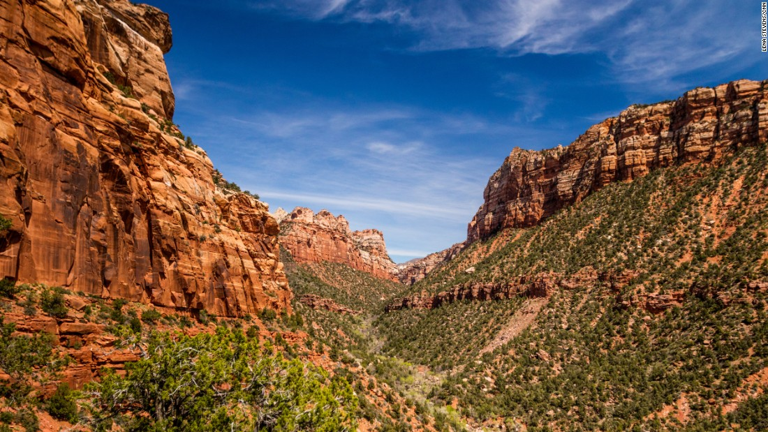 Zion National Park is often the first stop for visitors on the Grand Circle tour of national parks in Utah and Arizona. The National Park Service offers a shuttle service within the park, so you don't have to worry about finding parking at trailheads or viewing locations.