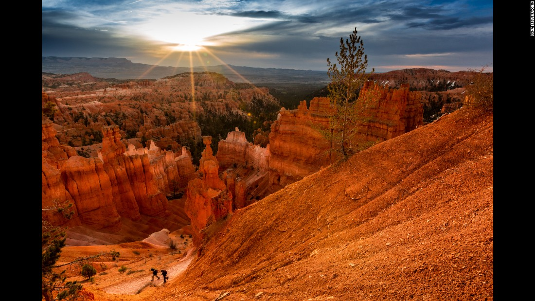 About 90 minutes from Zion National Park is Bryce Canyon National Park. You'll need at least two and a half hours to drive through the park to visit Bryce Amphitheater viewpoints and at least another couple of hours to hike in the canyon.