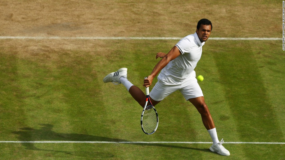 The 2013 champion triumphed 7-6 (12-10) 6-1 3-6 4-6 6-1 after his French opponent battled back from 2-0 down to level the match.