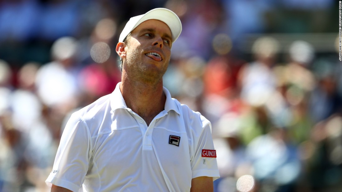 Having shocked imperious world No. 1 and two-time defending champion Novak Djokovic in the third round, 28th seed Querrey goes home with his head held high.
