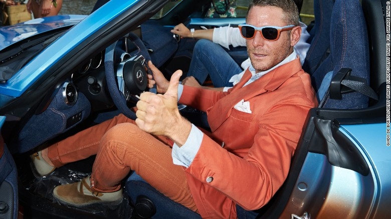 Ancient Rome on four wheels with Lapo Elkann