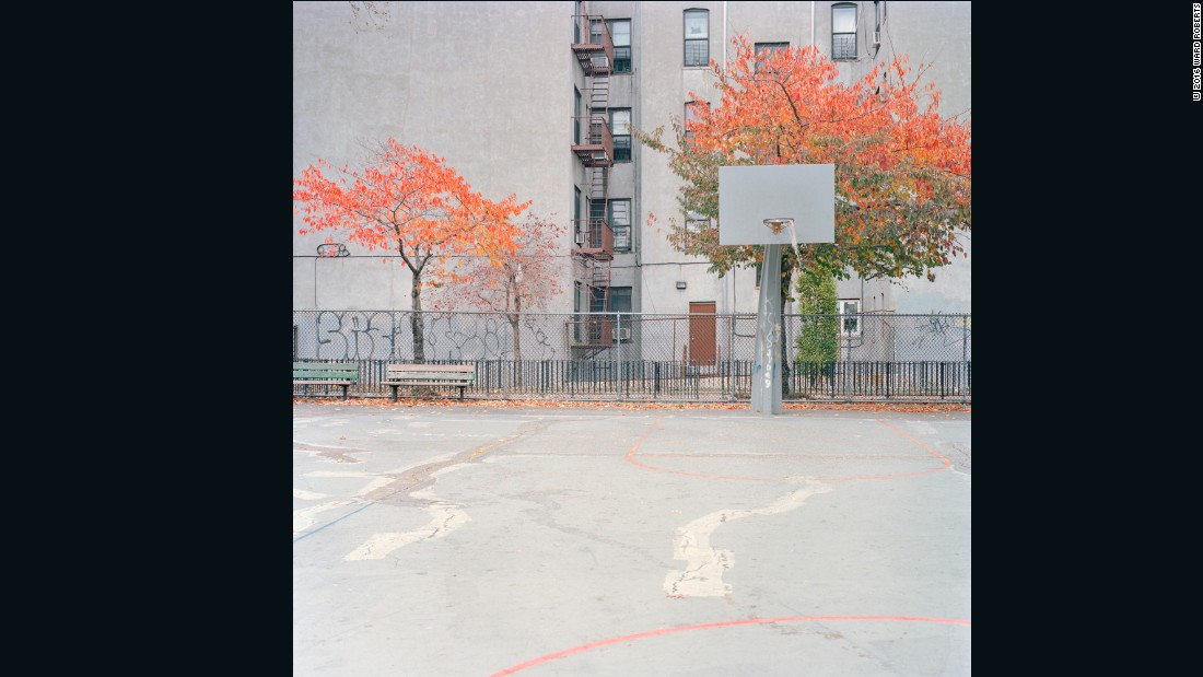 """The cover image for 'Courts 02' was shot in Brooklyn, New York, which is where I'm currently based. I love New York because there's so much creative talent and energy there. Everyone wants to contribute something unique to their field. That's what's amazing about New York.""  -- Ward Roberts"