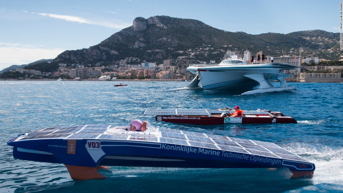 """Solar energy is one of the key elements in the pathway towards a sustainable future and we are fully committed to promote the ultimate synergy of nature, motion and innovation in motor boating,"" said Raffaele Chiulli, president of the International Union of Powerboating (UIM)."