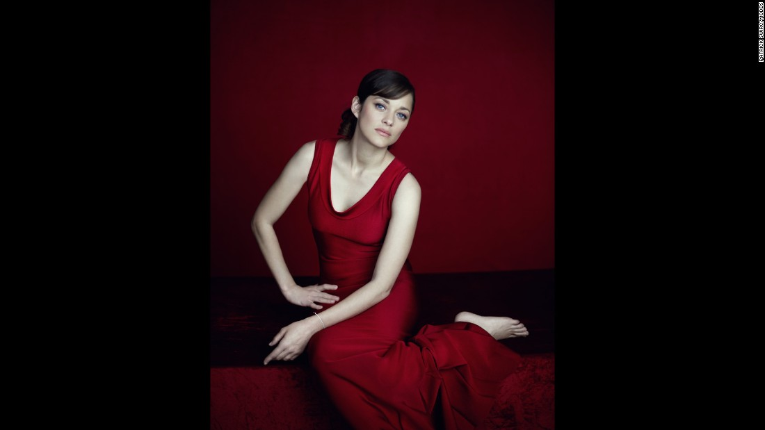 """Actress Marion Cotillard """"is so sensual,"""" Swirc said. """"All you have to do is draw your gaze toward her and you have your picture."""""""