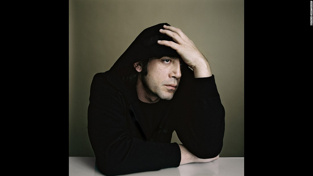 """Swirc shot actor Javier Bardem at the Cannes Film Festival in France. """"He has an incredible profile,"""" Swirc said."""