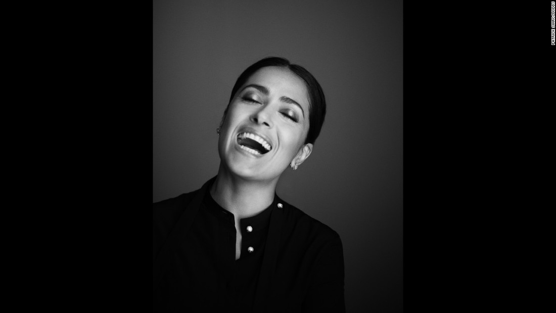 """Swirc talked about what happened after he photographed actress Salma Hayek: """"She came up to me to view photos on the screen of my camera, and I felt the fabric of her blouse against my arm. My camera almost slipped from my hands."""""""