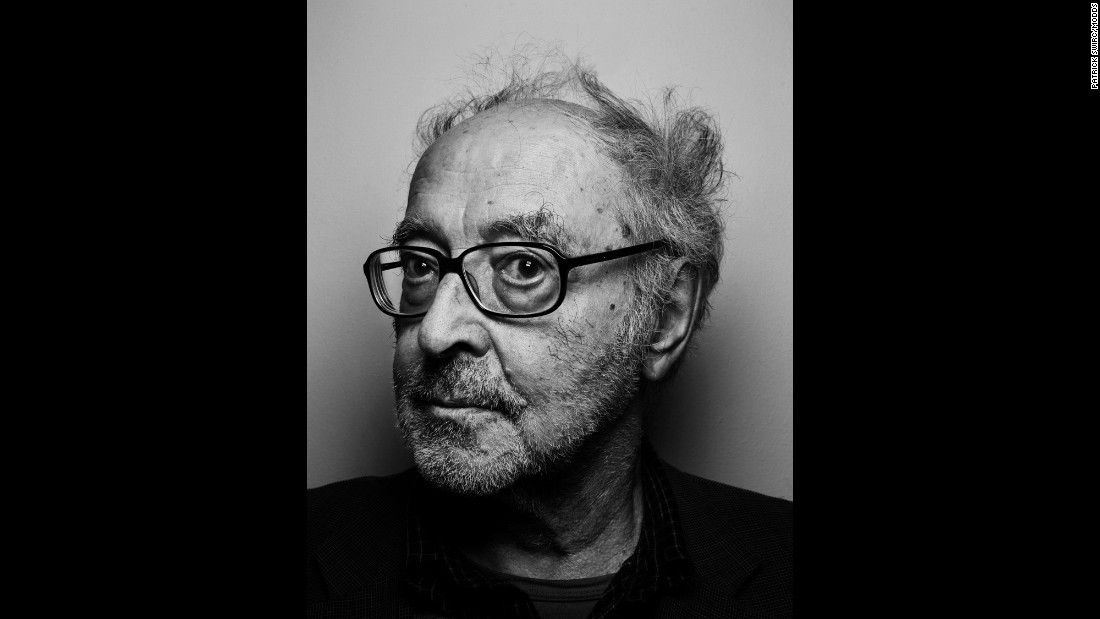 """Director Jean-Luc Godard is known for his radical, complex and philosophical films. """"Godard looks at me without understanding what is happening, and that that is exactly my attitude when I look at his films: I don't understand anything at all,"""" Swirc said."""