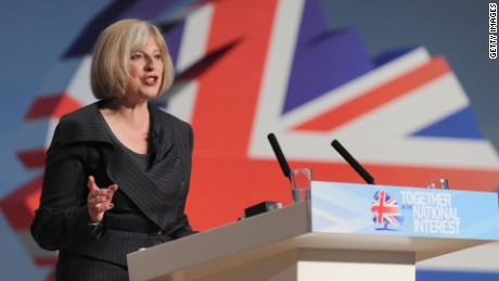 who is theresa may robin oakley pkg_00014710