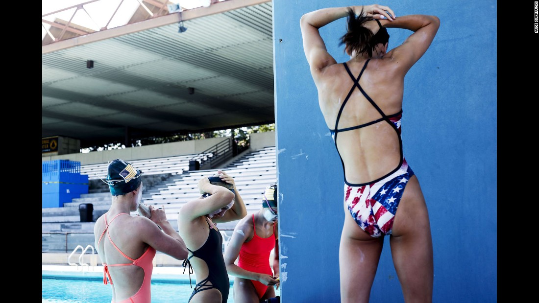 Guerrucci also spent time photographing the U.S. junior team as it prepared for this month's World Championships.